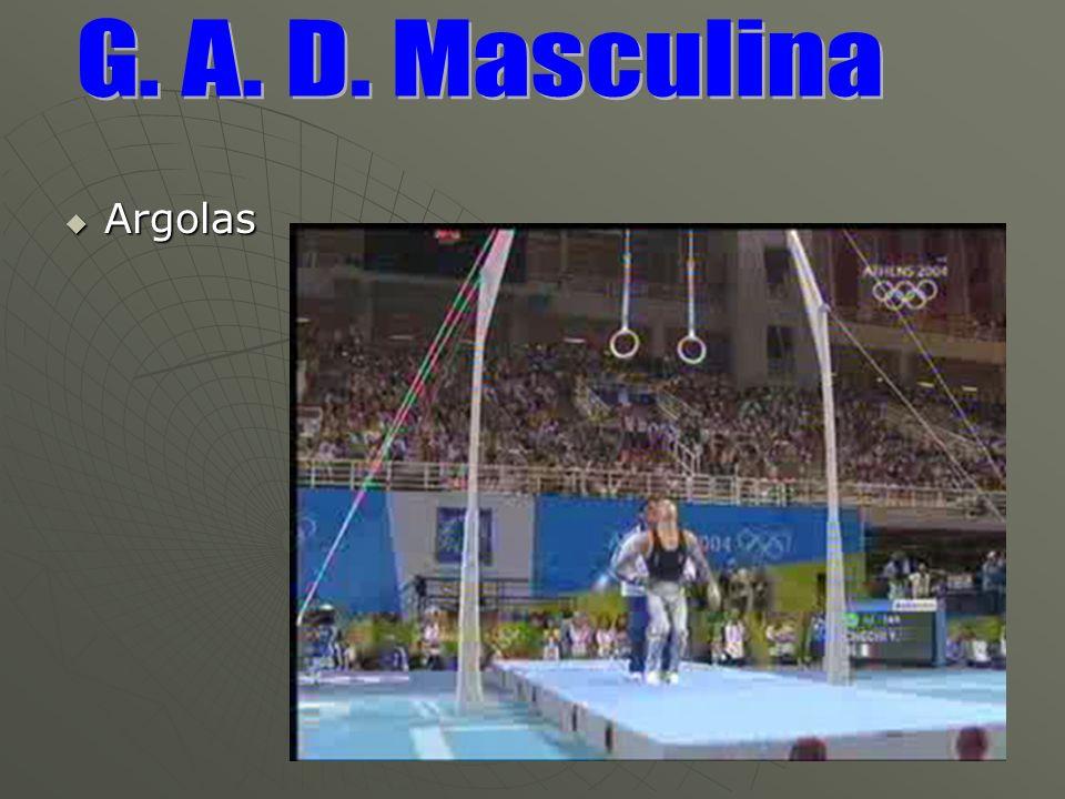 G. A. D. Masculina Argolas