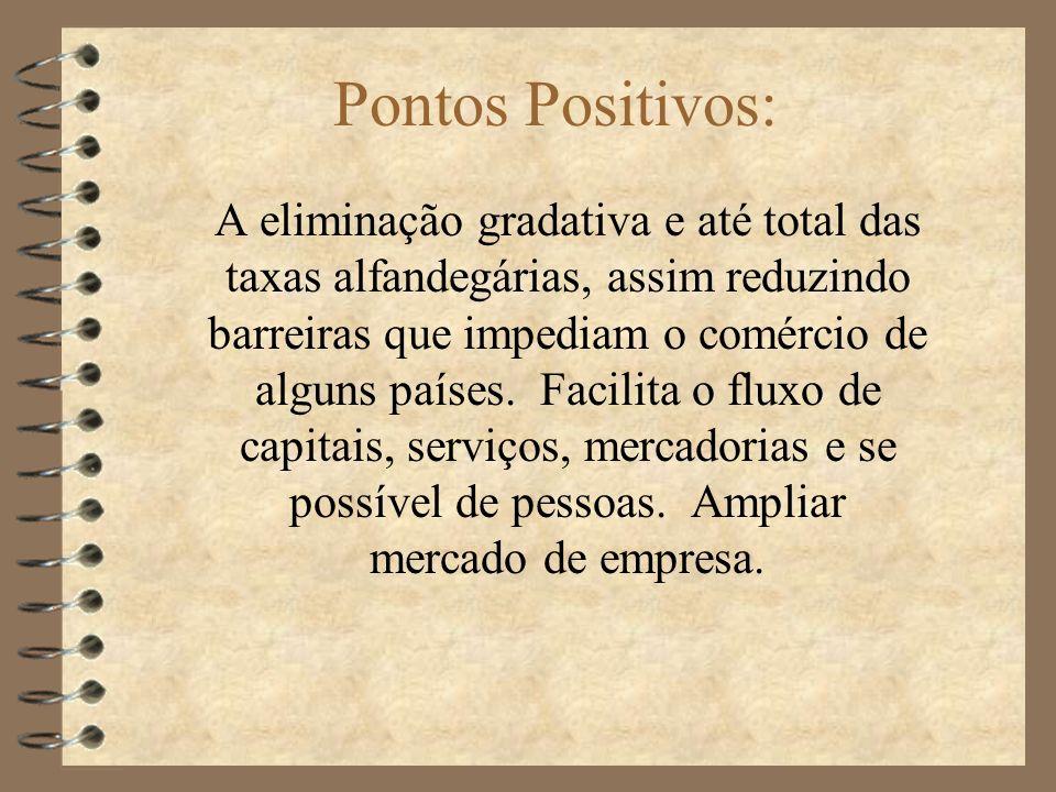 Pontos Positivos: