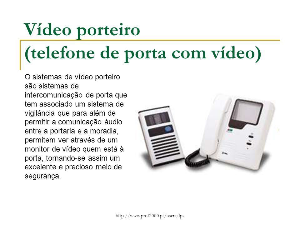 Vídeo porteiro (telefone de porta com vídeo)