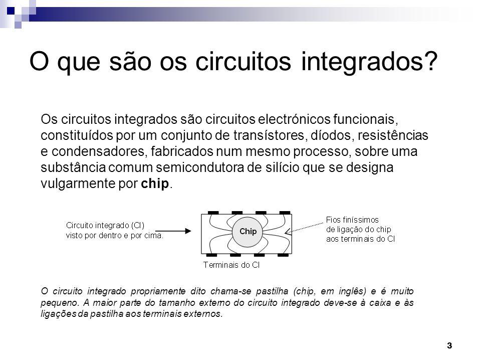 O que são os circuitos integrados