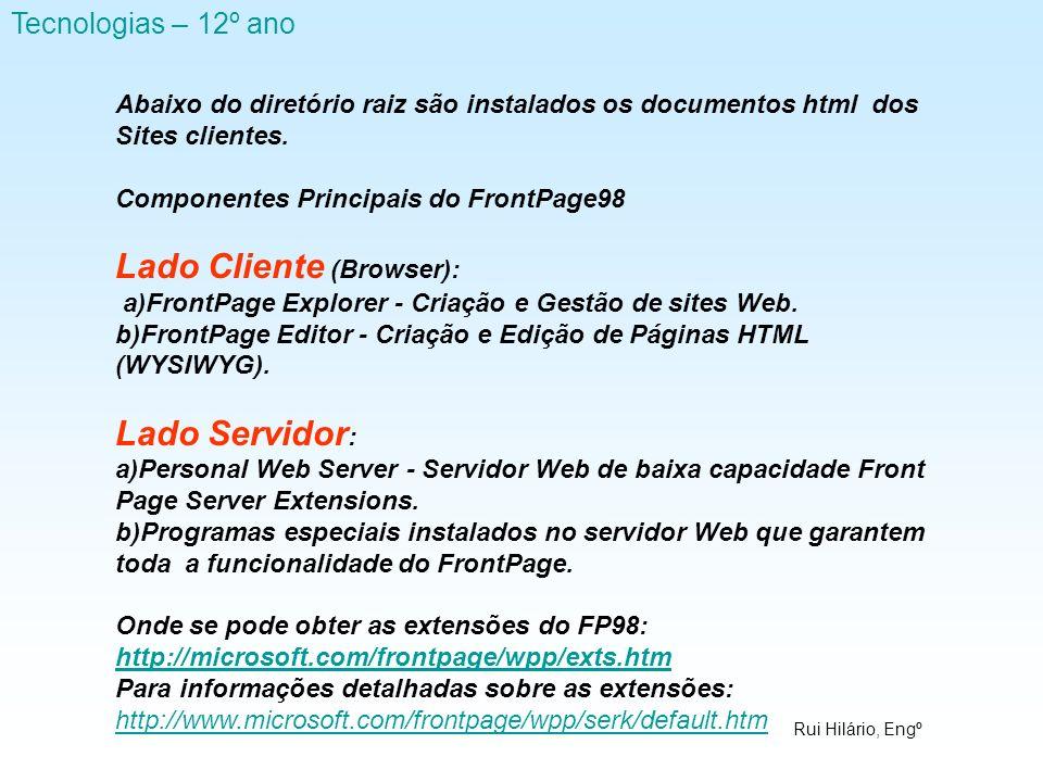 Lado Cliente (Browser):