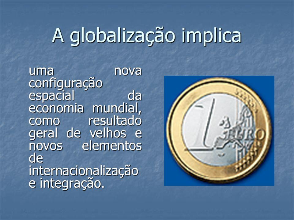 A globalização implica