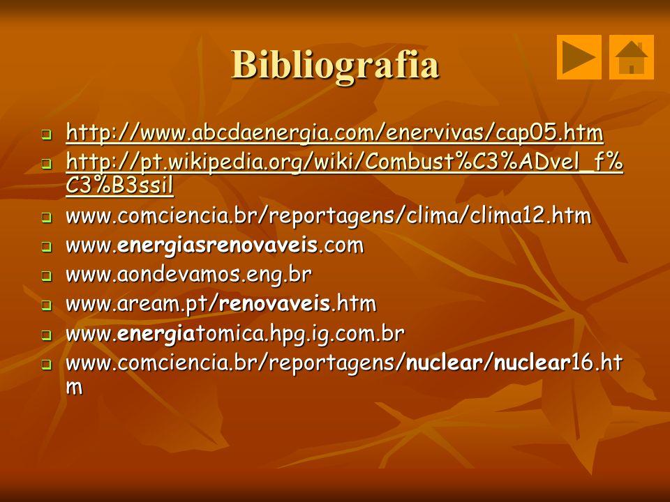 Bibliografia http://www.abcdaenergia.com/enervivas/cap05.htm