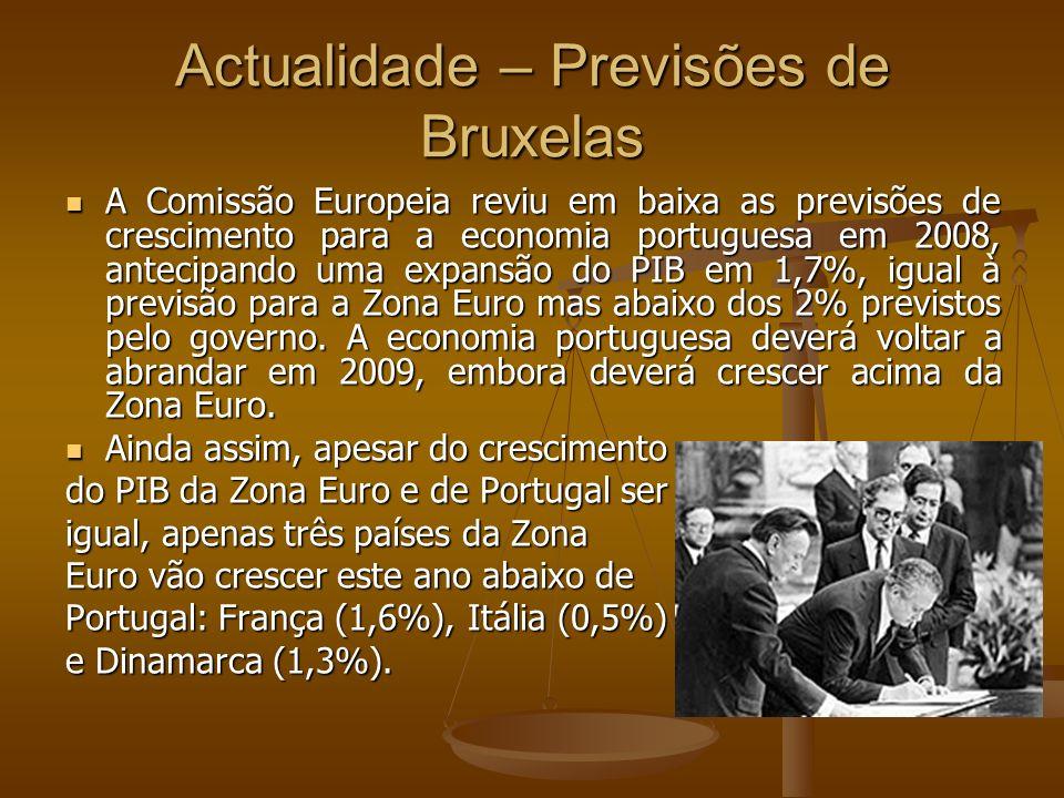 Actualidade – Previsões de Bruxelas