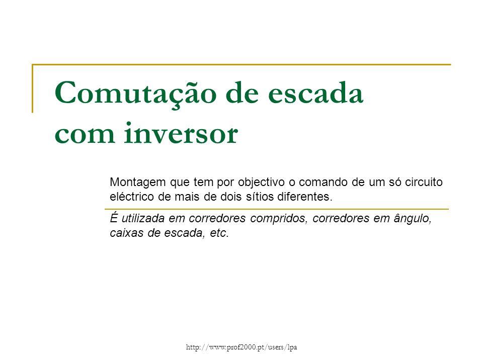 Comutação de escada com inversor