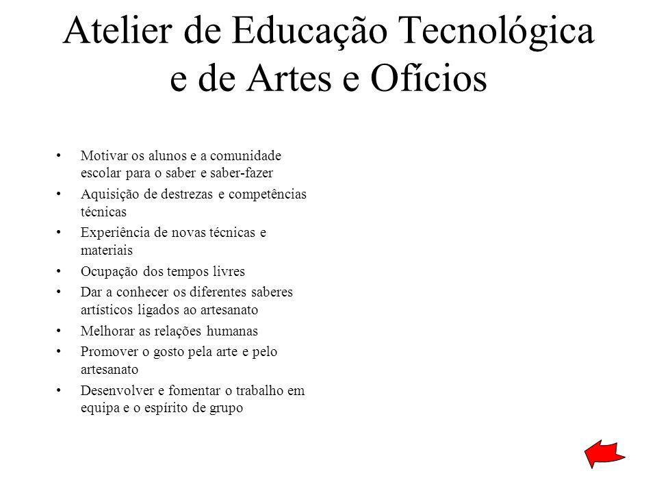 Atelier de Educação Tecnológica e de Artes e Ofícios