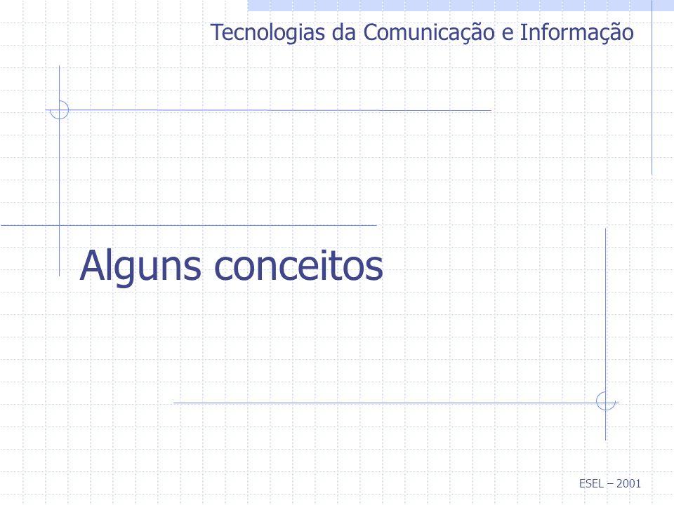 Tecnologias da Comunicação e Informação