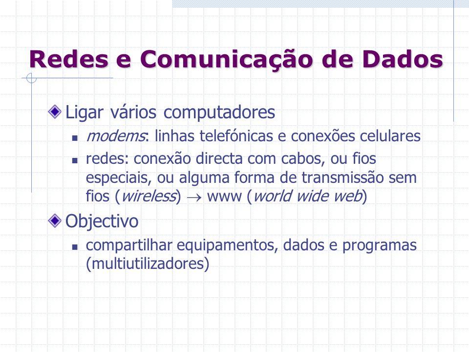 Redes e Comunicação de Dados