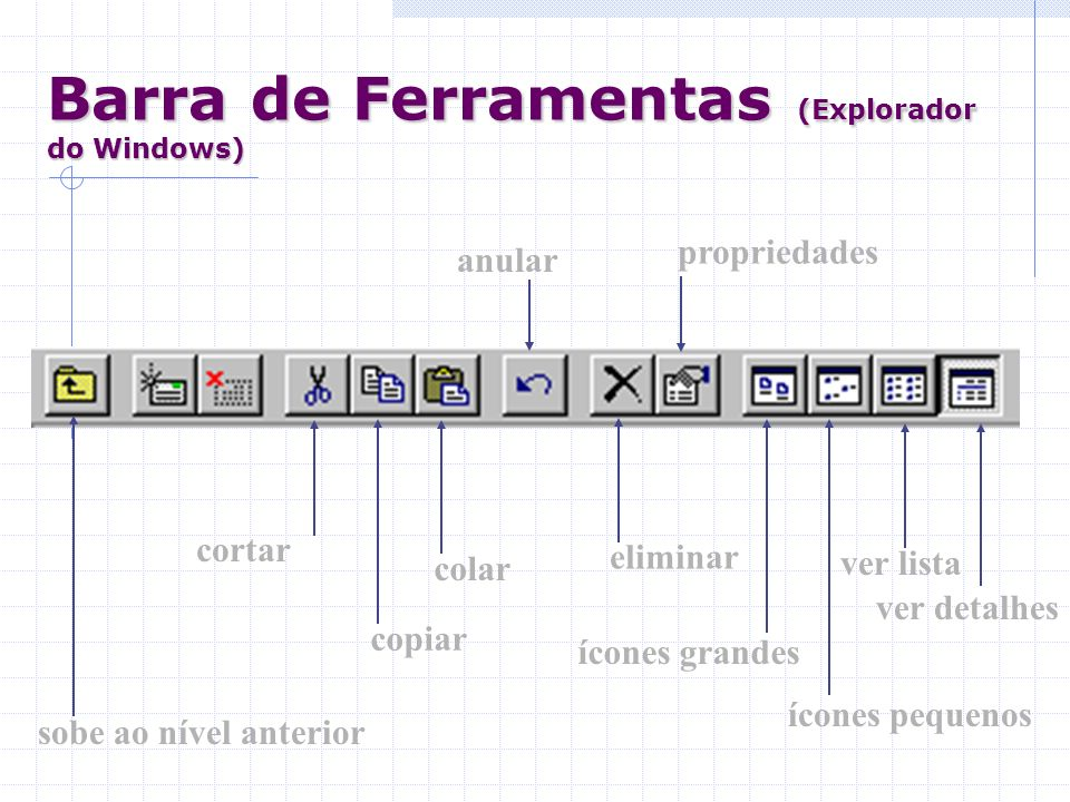 Barra de Ferramentas (Explorador do Windows)