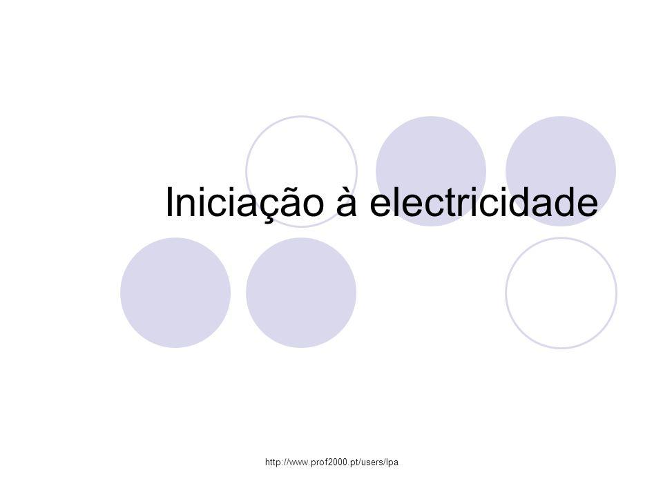 Iniciação à electricidade