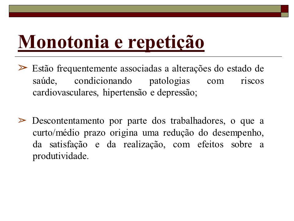 Monotonia e repetição