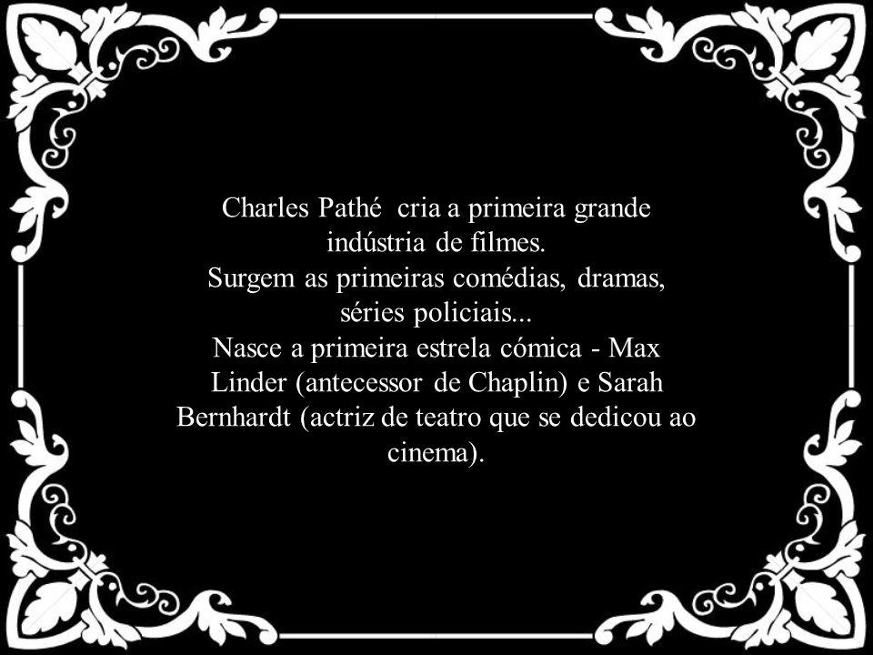 Charles Pathé cria a primeira grande indústria de filmes