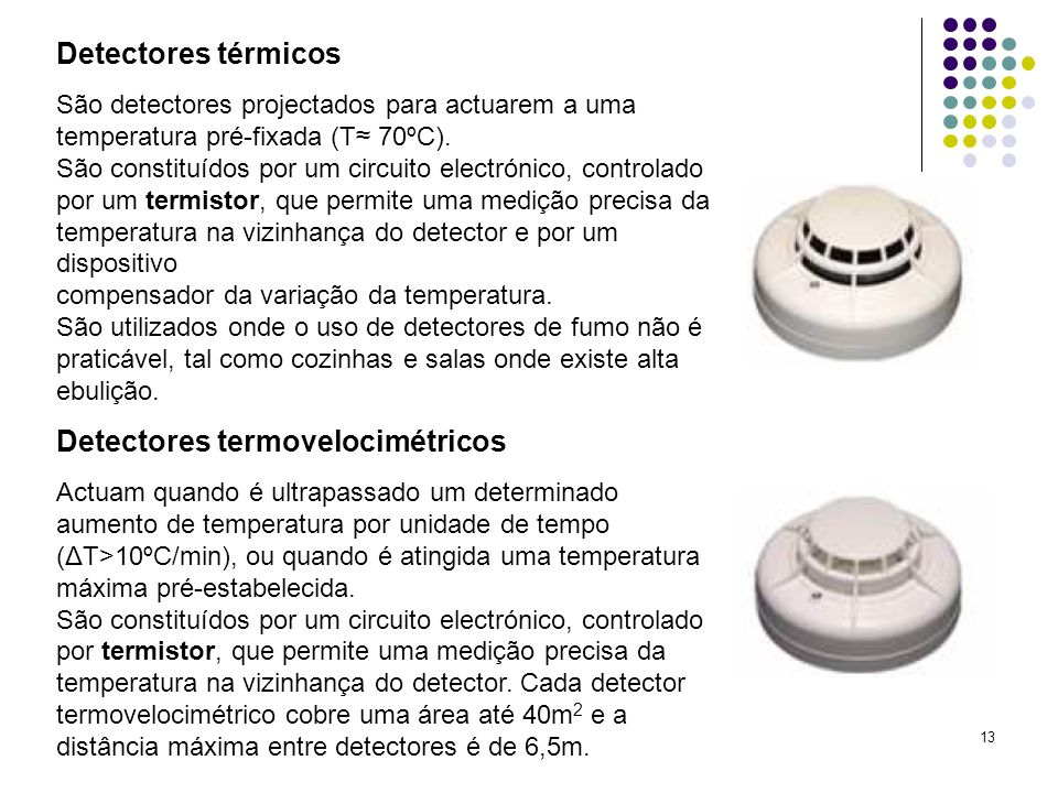 Detectores termovelocimétricos