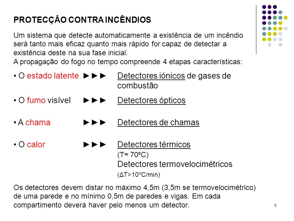 PROTECÇÂO CONTRA INCÊNDIOS
