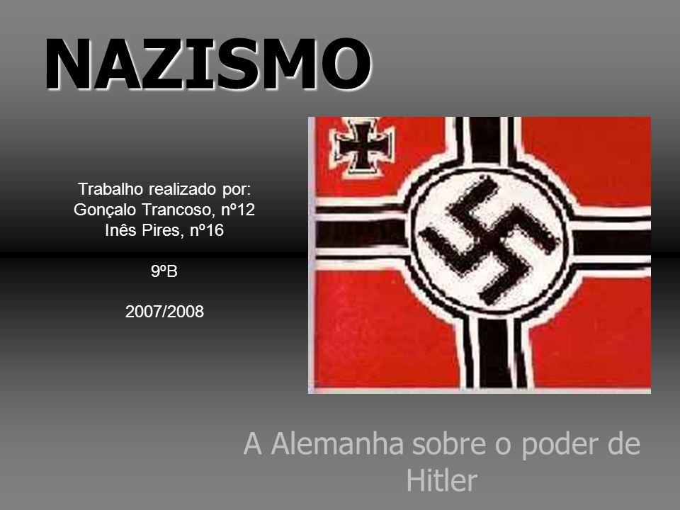 A Alemanha sobre o poder de Hitler