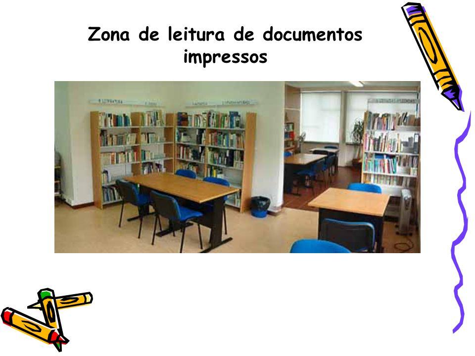 Zona de leitura de documentos impressos