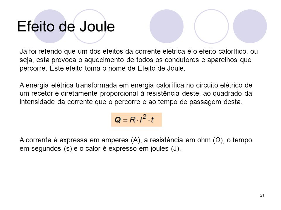 Efeito de Joule