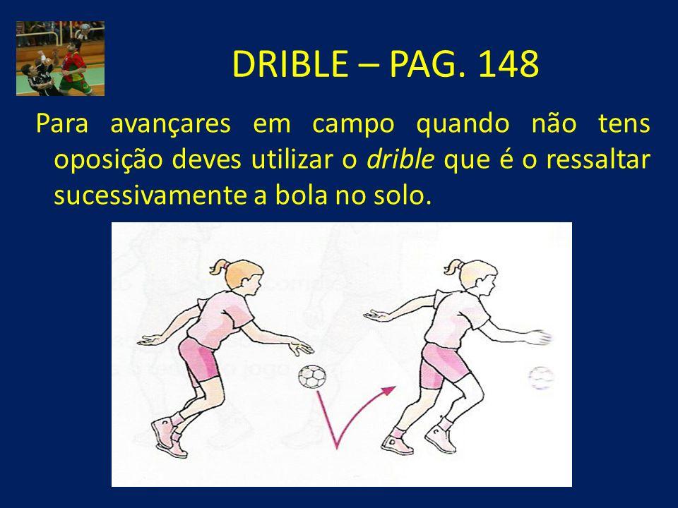DRIBLE – PAG.
