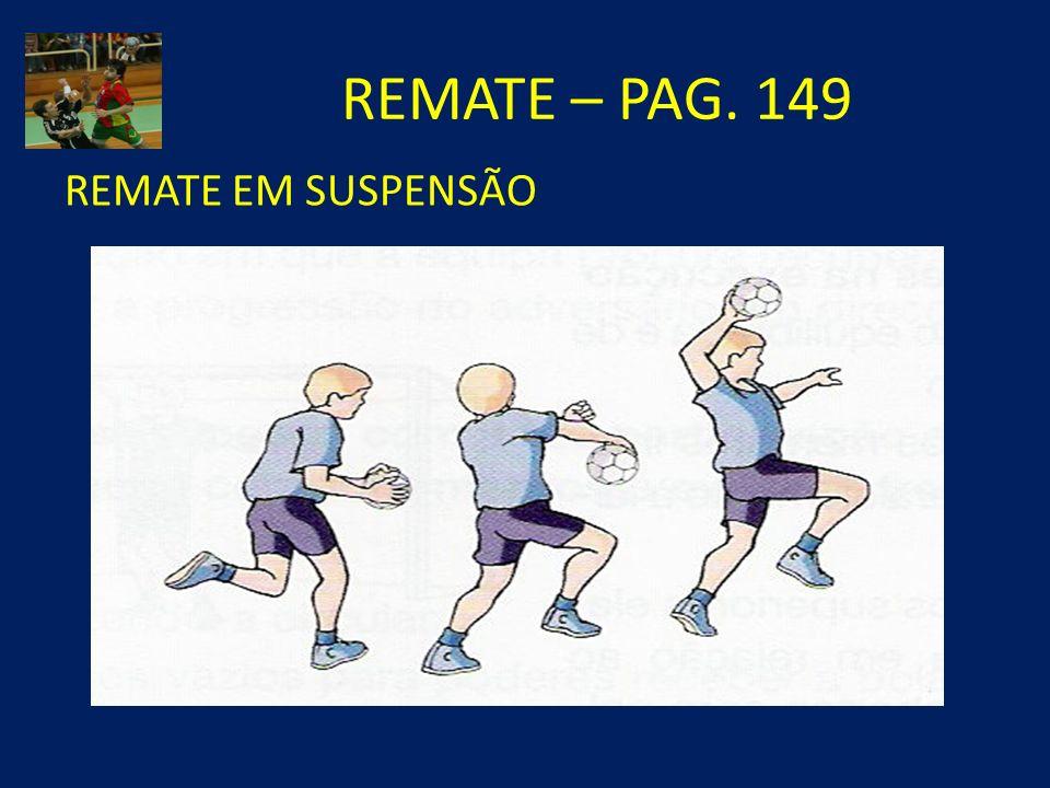 REMATE – PAG. 149 REMATE EM SUSPENSÃO