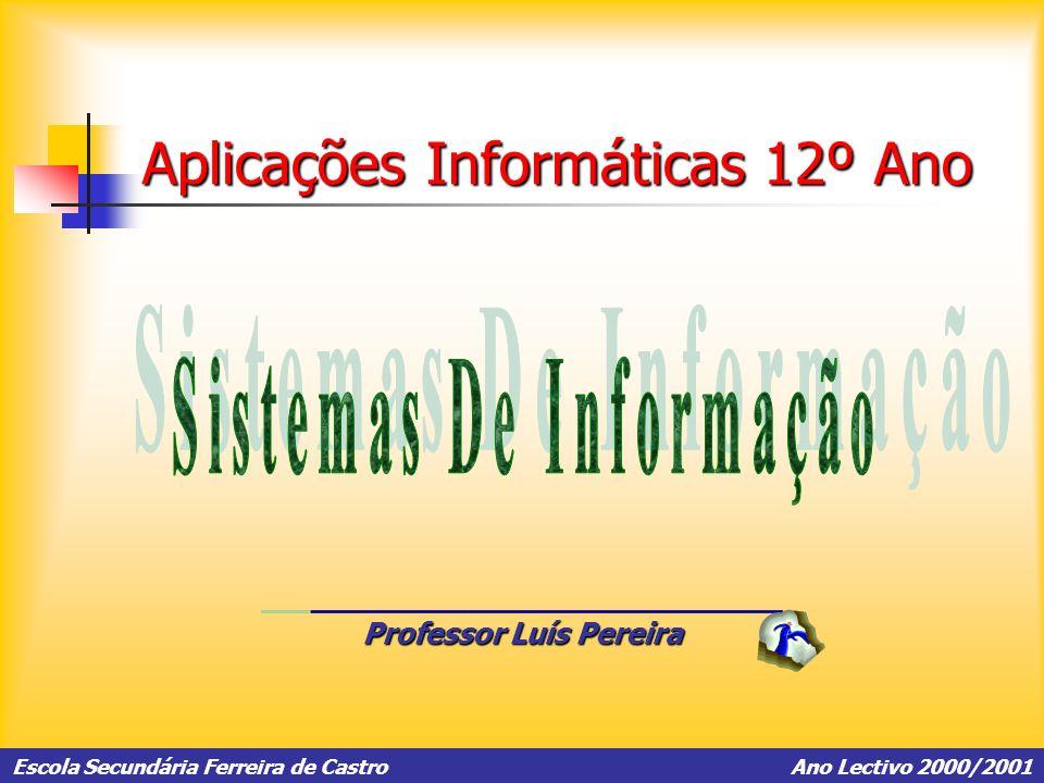 Aplicações Informáticas 12º Ano