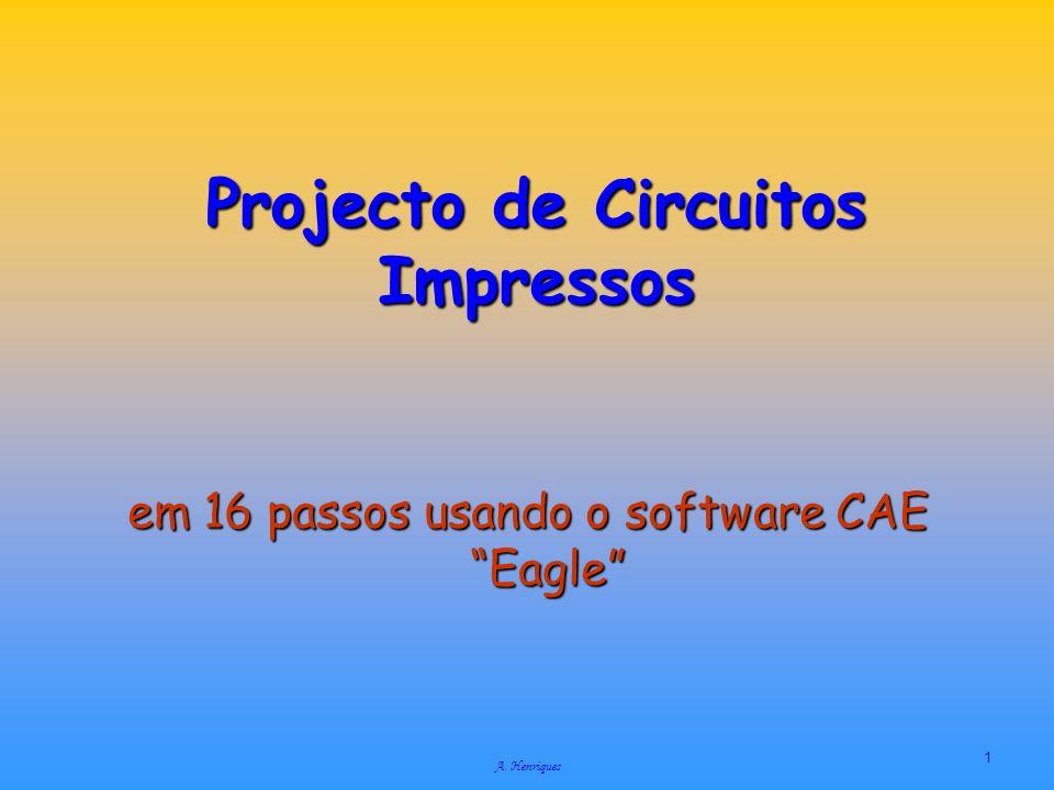 Projecto de Circuitos Impressos