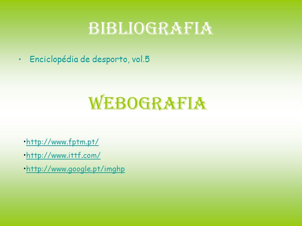 Bibliografia Webografia Enciclopédia de desporto, vol.5