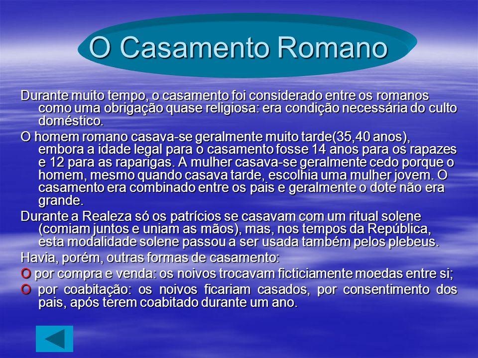 O Casamento Romano