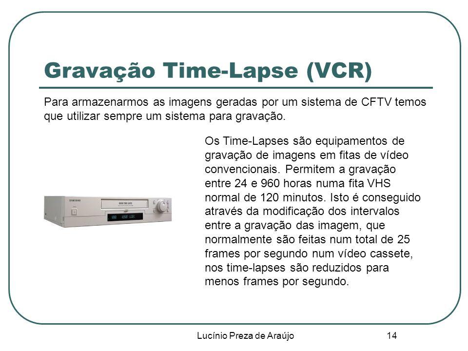 Gravação Time-Lapse (VCR)