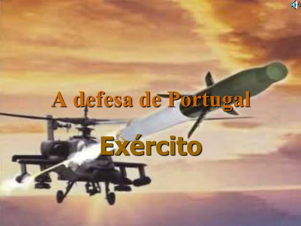 A defesa de Portugal Exército