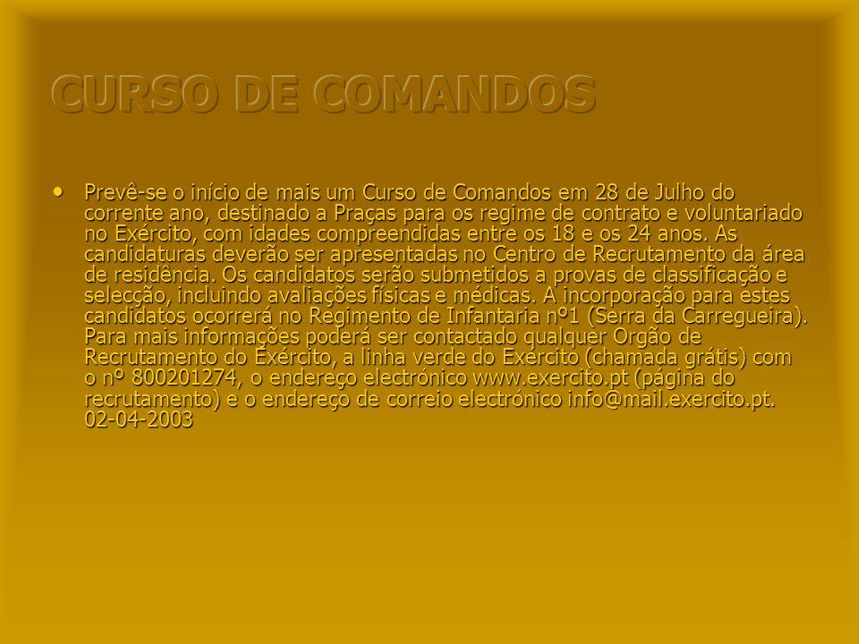 CURSO DE COMANDOS