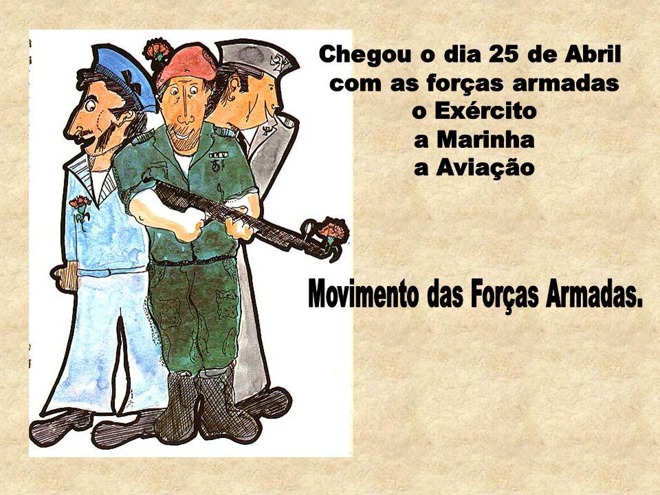 Movimento das Forças Armadas.