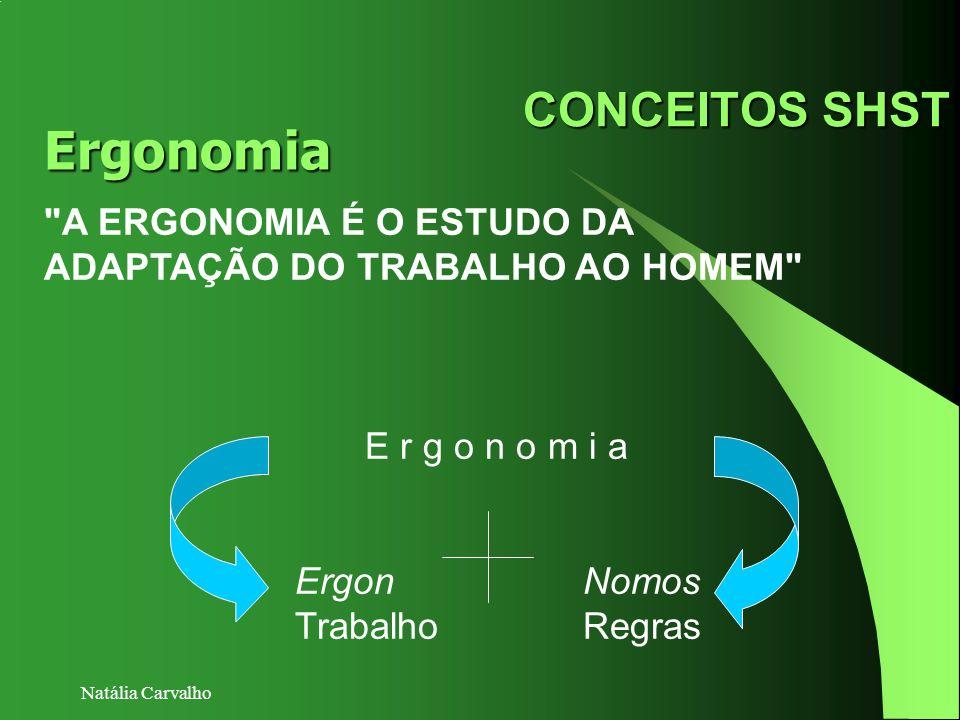 Ergonomia CONCEITOS SHST