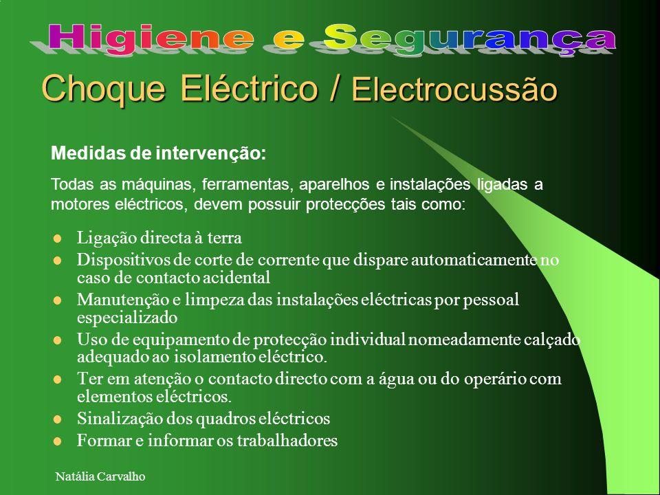 Choque Eléctrico / Electrocussão