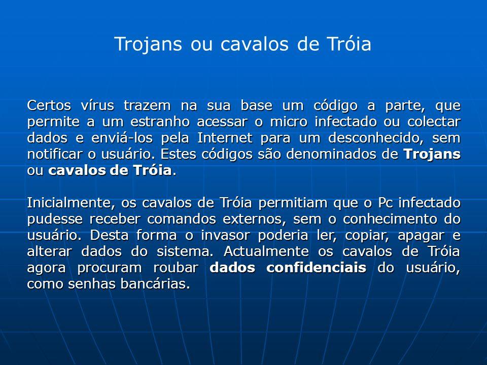 Trojans ou cavalos de Tróia