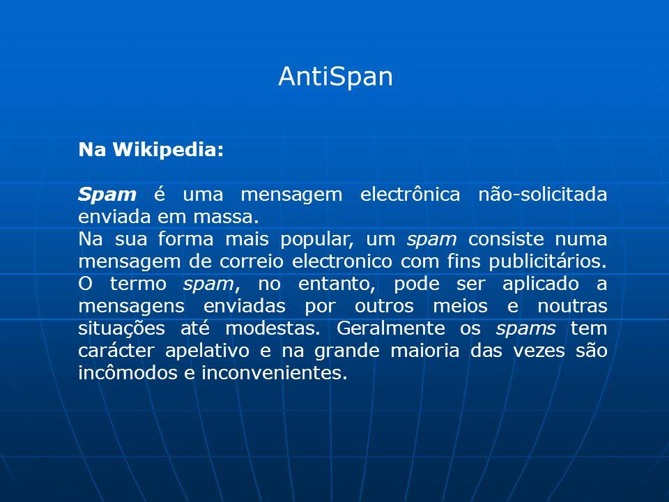 AntiSpan Na Wikipedia: