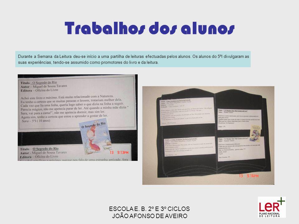 ESCOLA E. B. 2º E 3º CICLOS JOÃO AFONSO DE AVEIRO
