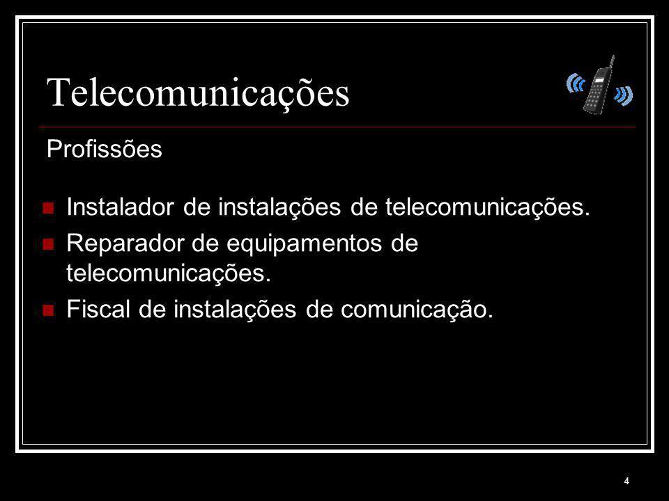Telecomunicações Profissões