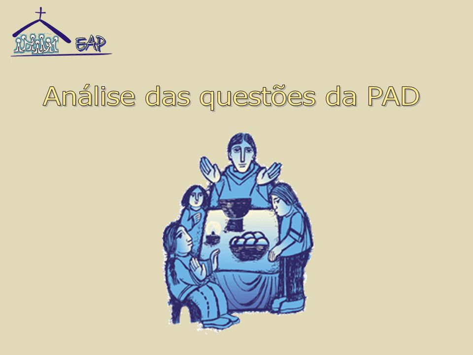 Análise das questões da PAD