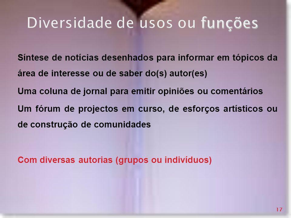 Diversidade de usos ou funções