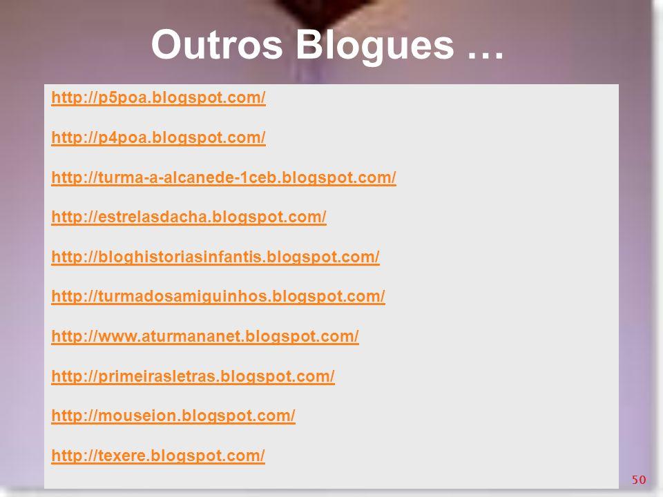 Outros Blogues … http://p5poa.blogspot.com/ http://p4poa.blogspot.com/
