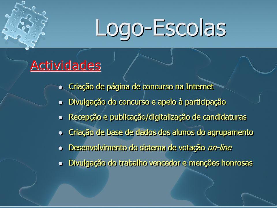 Logo-Escolas Actividades Criação de página de concurso na Internet