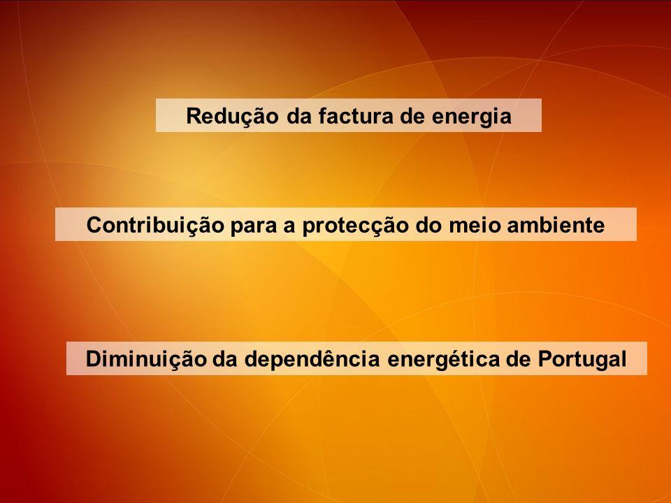Redução da factura de energia