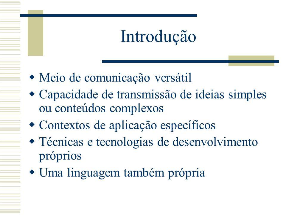 Introdução Meio de comunicação versátil