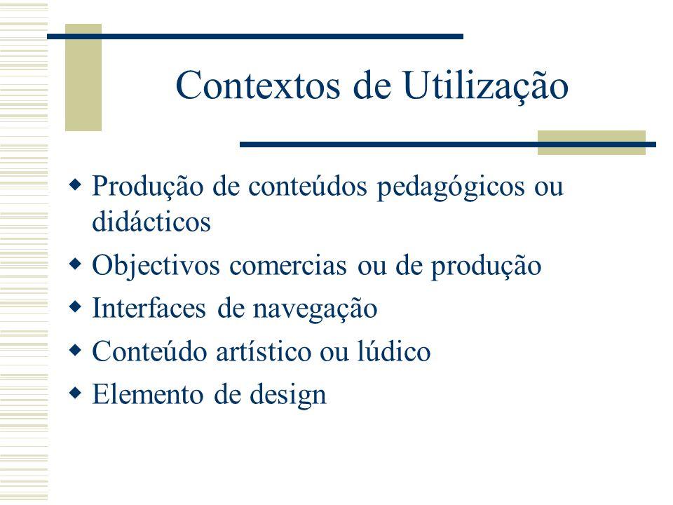 Contextos de Utilização