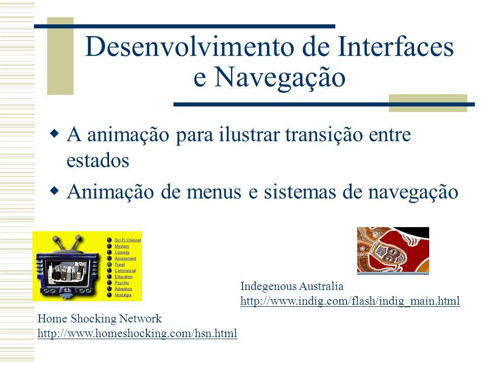 Desenvolvimento de Interfaces e Navegação