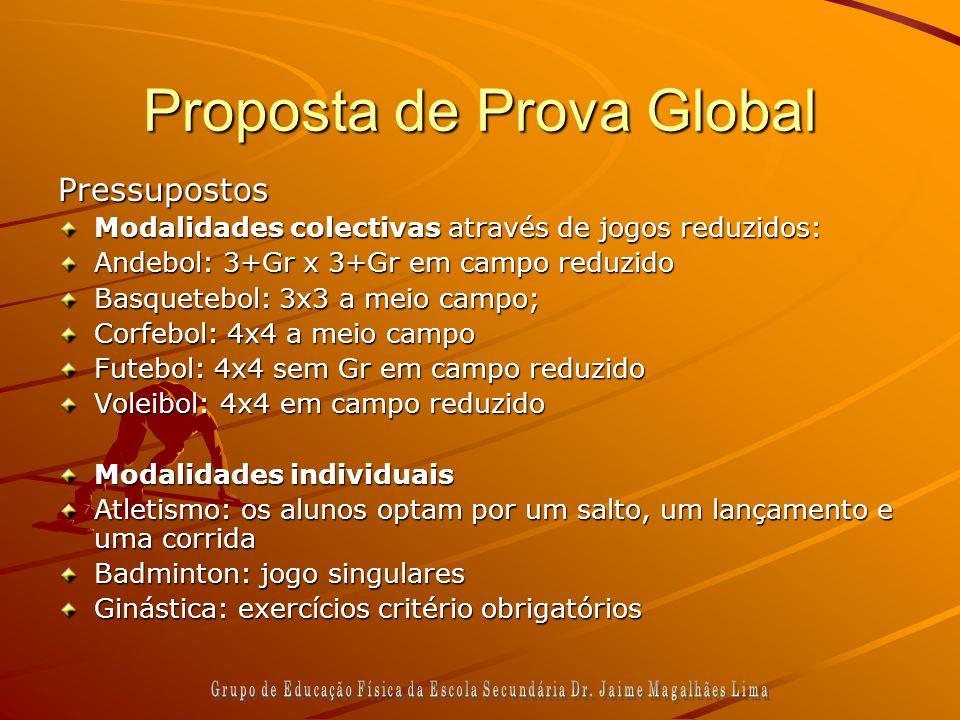 Proposta de Prova Global