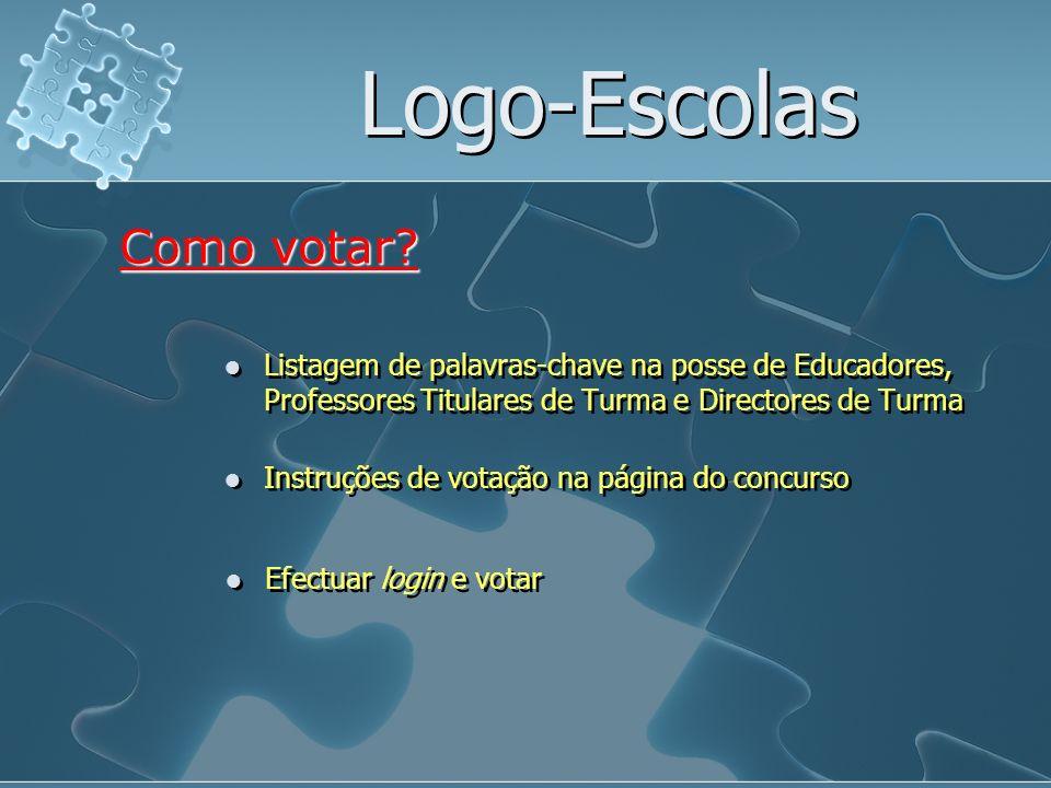 Logo-Escolas Como votar