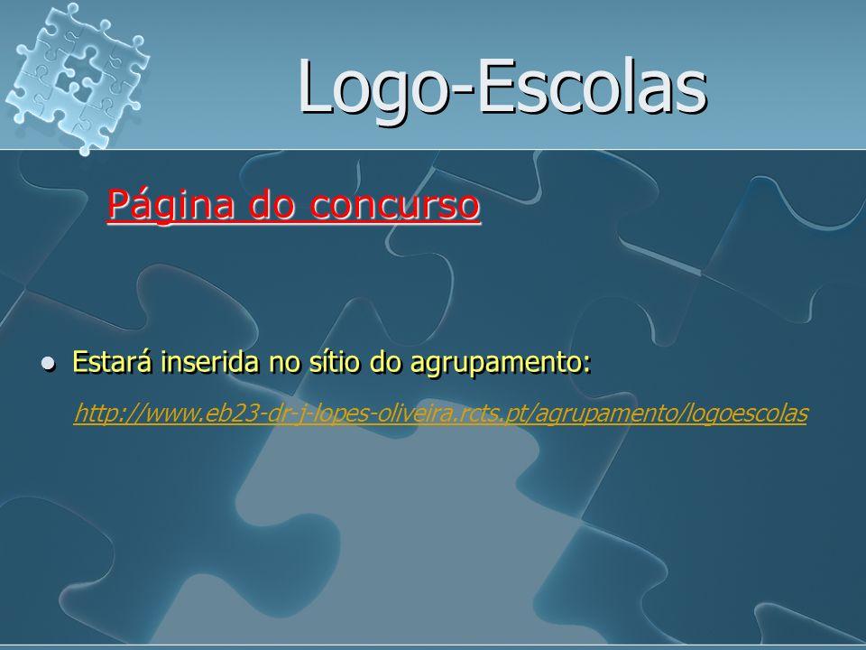 Logo-Escolas Página do concurso