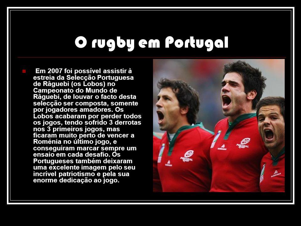 O rugby em Portugal