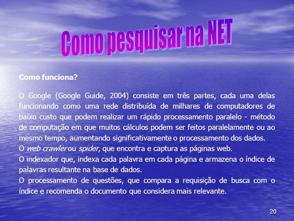 Como pesquisar na NET Como funciona